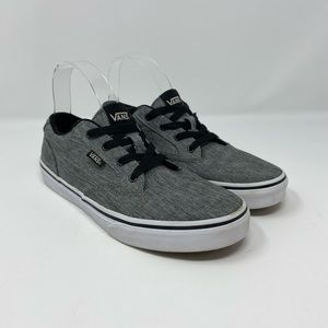 Vans Lace up sneaker Youth Size 6Y, Wmns 7.5